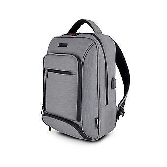 "Laptop Backpack Urban Factory MCE15UF Grey 15.6"""