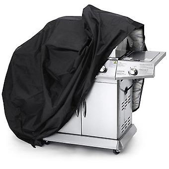 重型防水烧烤 (烧烤) 存储盖 - 黑色