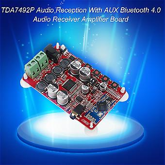 Réception audio Tda7492p avec carte d'amplification de récepteur audio Bluetooth 4.0