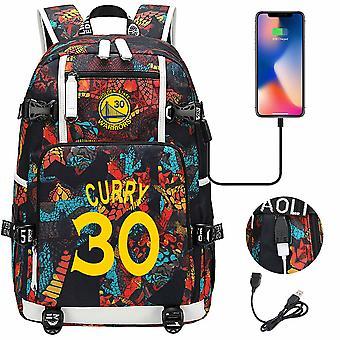 Nba Golden State Warriors Stephen Curry #30 USB Schultasche