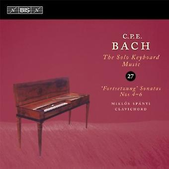 C.P.E. Bach - C.P.E. Bach: The Solo Keyboard Music, Vol. 27 [CD] USA import