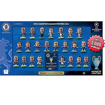 Chelsea SoccerStarz Champions League vindere Team Pack