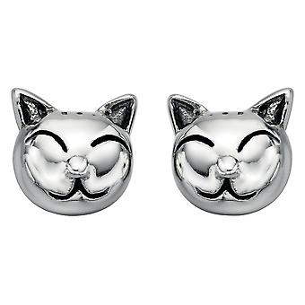 925 Silver Earring Cat
