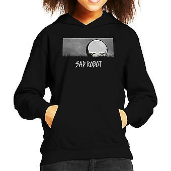 Triest Robot Marvin Hitchhikers Guide To The Galaxy Kid's Hooded Sweatshirt