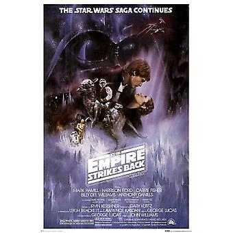 L'Empire contre-attaque Star Wars Poster Poster Print