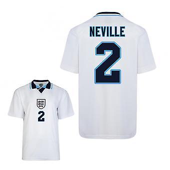 Gelijkspel Engeland Euro 1996 thuis Shirt (Neville 2)