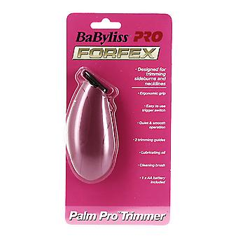 BaByliss Pro Forfex Palm Pro trimmerin hopea Hot Pink