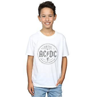 AC/DC jungen Rock N Roll Damnation T-Shirt schwarz