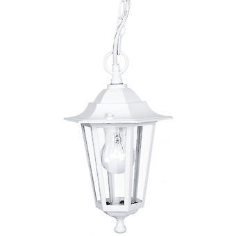Eglo Lanterna4 1 Light Outdoor Lantern Pendant White IP33