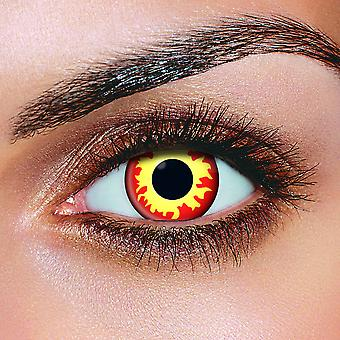 Flame Eyes Contact Lenses (Pair)