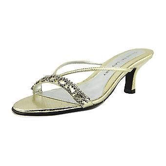 Blanchisserie chinoise Womens Jello Open Toe occasionnels T-Strap Sandals