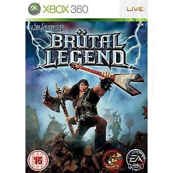 Brutal Legend (Xbox 360)-fabriks forseglet