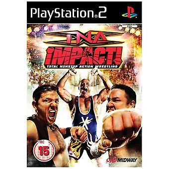 TNA Impact (PS2) - Neue Fabrik versiegelt