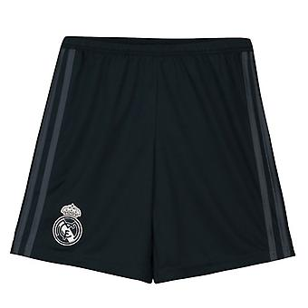 2018-2019 Real Madrid pantaloni scurți Adidas away (gri)-copii