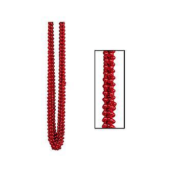 Perles Metallic Red Party