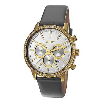 Joop Mens watch bracelet montre cuir analogique quartz Chrono JP101712002 Jackie