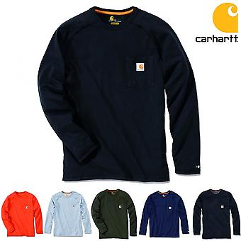 Carhartt Men's Long Sleeve Shirt Force Cotton