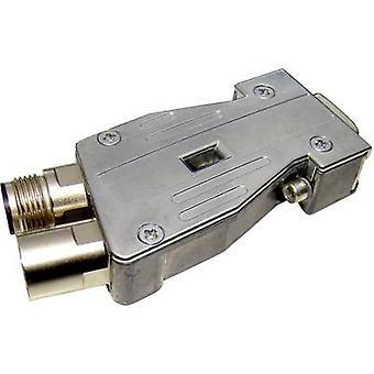 Provertha 40-1191122 I-Net Profibus Metal Plug Connector Adapter, Y-shaped, Terminator
