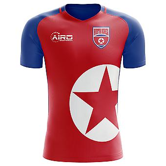 2020-2021 North Korea Home Concept Football Shirt - Adulte Manches longues