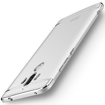 Caso di copertura del telefono cellulare per Huawei mate 10 Pro paraurti 3 in 1 copertura argento cromato
