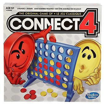Conecte 4 grade clássico jogo de tabuleiro
