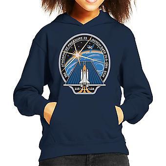 Camiseta de encapuchados NASA STS 115 lanzadera de espacio Atlantis Mission Patch Kid