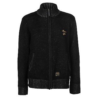 Hamnett Gold Mens Scooter Cardigan Jumper Top Sweater Pullover Long Sleeve Zip