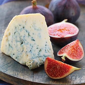 長いクローソン スティルトン ブルー チーズの四分の一