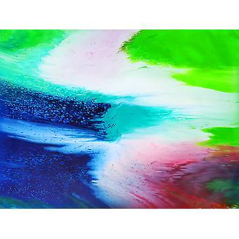 اللوحة الزيتية التجريدية، 90x120 سم اليد رسمت 003318080875646