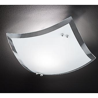Trio Lighting Busa Modern Chrome Metal Ceiling Lamp