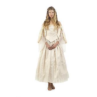 Demoiselle célèbre de mariage médiéval demoiselle d'honneur de la reine du château Mesdames costume