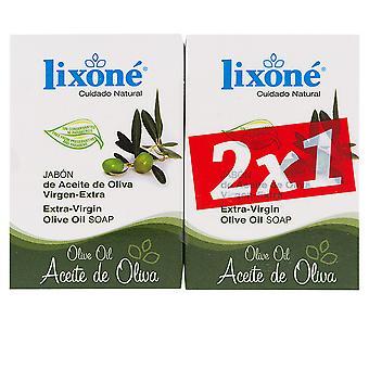 Lixone Aceite Oliva Jabón Piel Seca 2 X 125 gr. Unisex