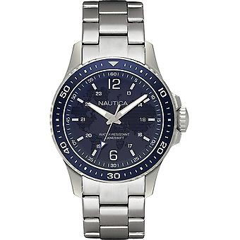 Nautica Watch NAPFRB008 - Plated Stainless Steel Gents Quartz Analogue