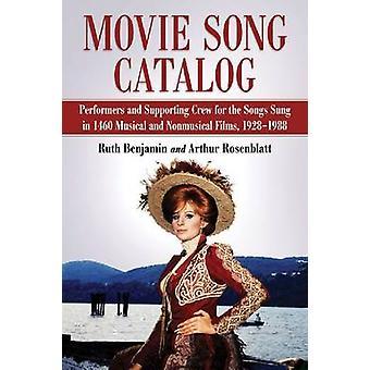 Film Song Katalog - Künstler und unterstützenden Crew für die Lieder gesungen