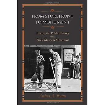Van Storefront naar Monument: tracering van de openbare History of the Black Museum Movement (openbare geschiedenis in historische...