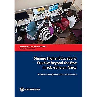 Compartir la promesa de la educación superior más allá de los pocos en el África subsahariana (direcciones en el desarrollo)