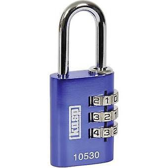 Kasp K10530BLUD cadeado 30 mm azul combinação