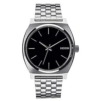 Nixon analog quartz watch with stainless steel band _ A045000-00