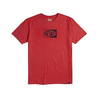 Animal Claw Short Sleeve T-Shirt in Red Marl
