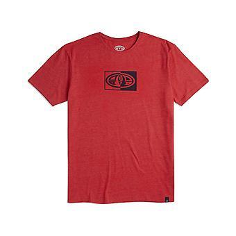 Animal Claw kort ermet T-skjorte i rød Marl