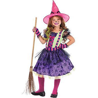 Witch Cat Child Costume