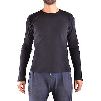 Yohji Yamamoto Ezbc106032 Men's Grey Cotton Sweater