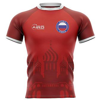 2020-2021 Russia Home Concept Rugby Shirt - Kids