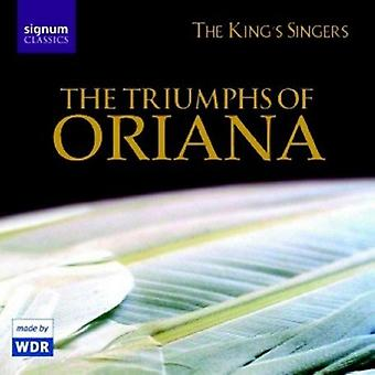 Triumphs of Oriana - The Triumphs of Oriana [CD] USA import