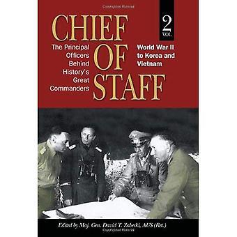 Chef d'état-major: deuxième guerre mondiale en Corée et au Vietnam c. 2