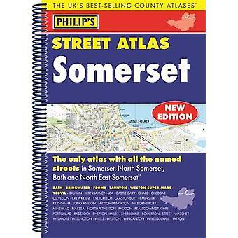 Philip ' s Street Atlas Somerset-9781849074278 bok