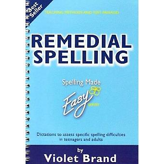 Remedial Spelling by Violet Brand - 9781904421108 Book