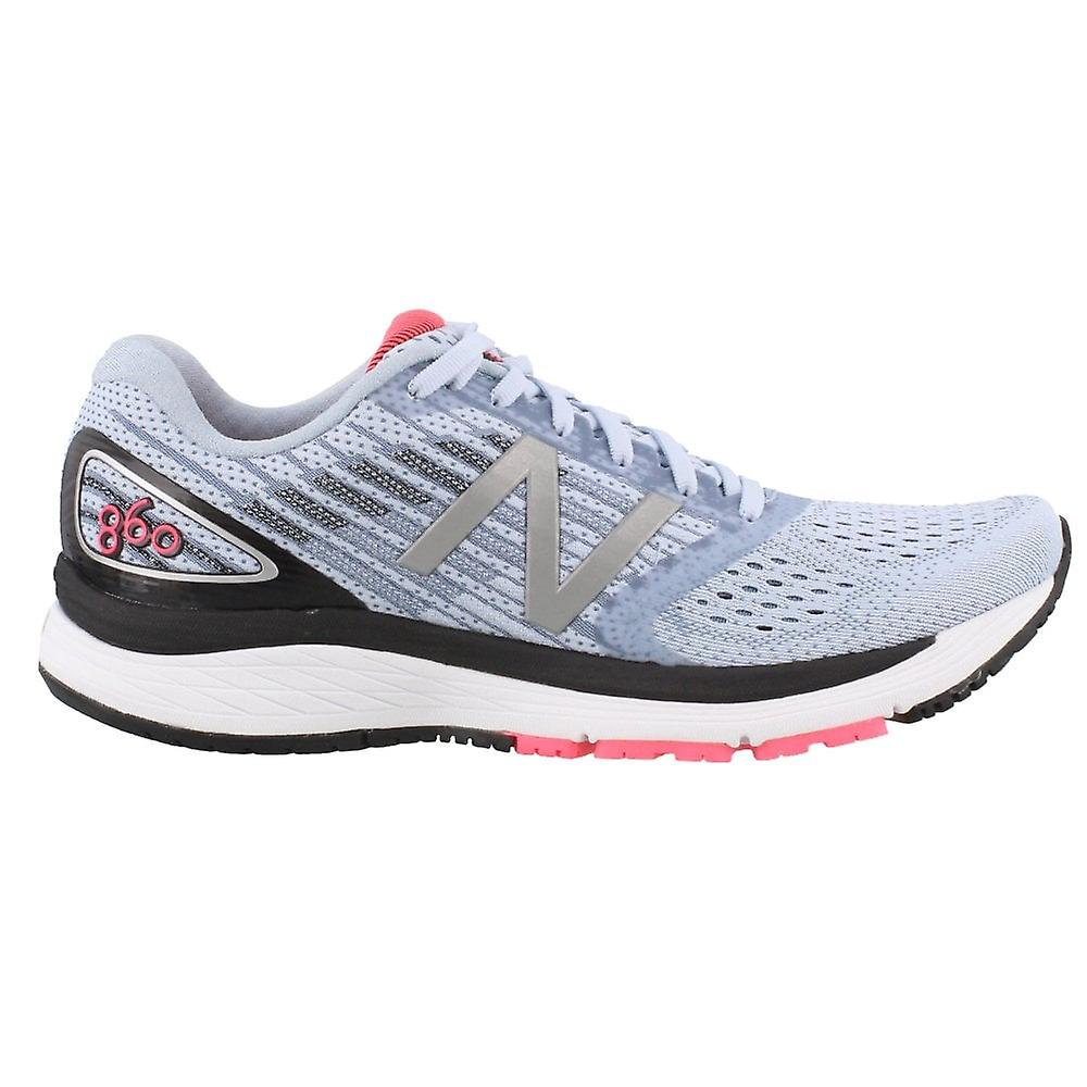 New Balance 860v9 Womens B Width (standard) Road Running Shoes With Support Ice Blue