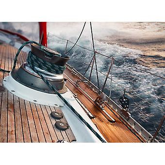 Tapete Mural Sailing in Storm