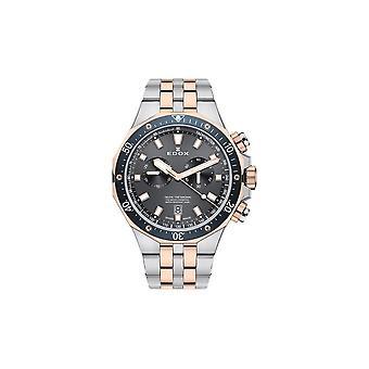 Edox Men's Watch 10109 357RBUM NIR Chronographs, Diver's Watch